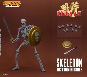 Golden Axe Action Figure 1/12: 2-Pack Skeleton by Storm Collectibles-2
