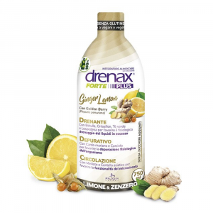 DRENAX FORTE GINGER AND LEMON - DEPURATIVO DRENANTE