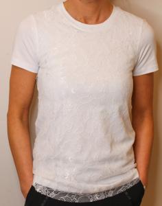 T-Shirt pizzo