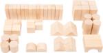 Cubetti da costruzione in legno