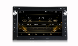 ANDROID autoradio 2 DIN navigatore per Golf 4 Passat B5 Bora Polo Trasporter T4 Trasporter T5 Jetta Chico Sharan Lupo Seat Ibiza GPS DVD WI-FI Bluetooth MirrorLink