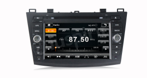 Autoradio 2 DIN navigatore per Mazda 32010 2011 2012 2013 GPS DVD USB SD Bluetooth