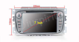 Autoradio 2 DIN navigatore per Ford Focus Ford Mondeo Ford S-Max Ford C-Max Ford Galaxy GPS DVD USB SD Bluetooth