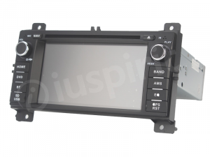 Autoradio navigatore per Jeep Grand Cherokee 2011 2012 2013 GPS DVD USB SD Bluetooth