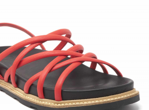Sandalo intrecciato in pelle Vic Matiè.