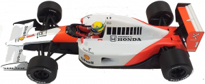 McLaren Honda MP4/6 Ayrton Senna V12 World Champion 1991 1/18