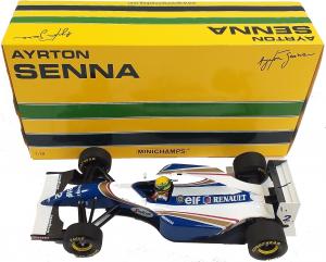 Williams Renault FW16 Brazilian Gp Ayrton Senna 1994 1/18