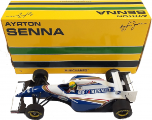 Williams Renault FW16 Pacific Gp Ayrton Senna 1994 1/18