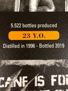 Rum Caroni THE LAST 23 anni - Caroni Distillery -Trinidad