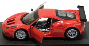 Ferrari 458 Italia GT2 Rosso Corsa 1/18