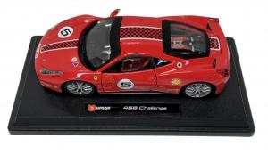 Ferrari 458 Challenge Rosso 1/24