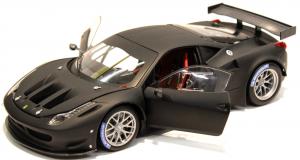 Ferrari 458 Italia GT2 Matt Black 1/18