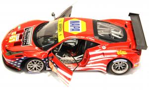 Ferrari 458 Italia GT2 LM 2012 AF Corse 1/18