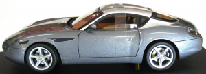 Ferrari 575 GTZ Zagato Dark Grey And Silver Elite 1/18