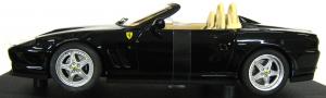 Ferrari 550 Barchetta Pininfarina Black 1/18