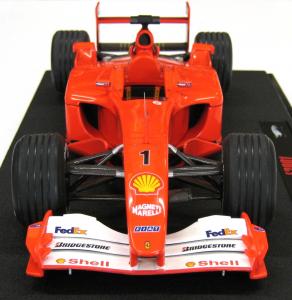 Ferrari F1 2001 Michael Schumacher Hungary GP Elite 1/18