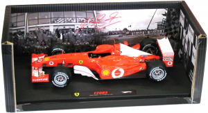 Ferrari F1 2002 Michael Schumacher France GP Elite 1/18