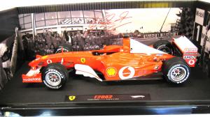Ferrari F1 2002 Michael Schumacher France GP Elite 1/18