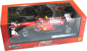 Ferrari F1 F10 Fernando Alonso Bahrain GP 2010 1/18