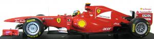 Ferrari F1 F150 Italia 2011 Fernando Alonso 1/18