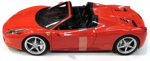 Ferrari 458 Spider Rosso Corsa Elite 1/18