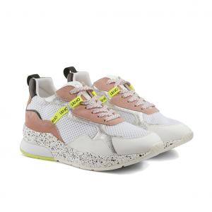 Chunky sneaker nude/bianca con fondo used Liu Jo