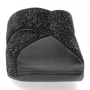 Fitflop Ritzy Slide Sandals black-3