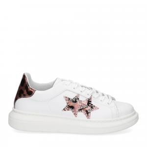 2Star Elettra sneaker bianco maculato rosa-2