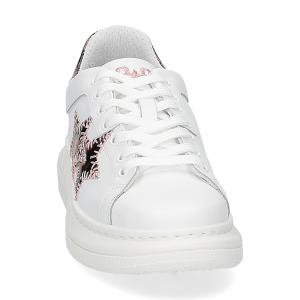 2Star Elettra sneaker bianco maculato rosa-3