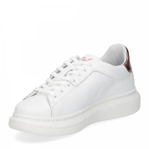 2Star Elettra sneaker bianco maculato rosa-4