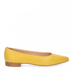 Il Laccio ballerina selena pelle gialla-1