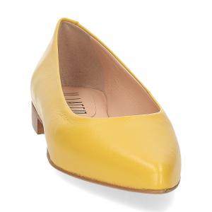 Il Laccio ballerina selena pelle gialla-2
