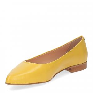 Il Laccio ballerina selena pelle gialla-3