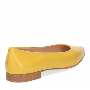 Il Laccio ballerina selena pelle gialla-4
