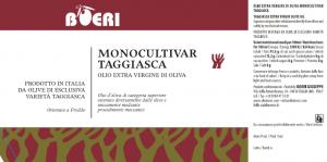 Monocultivar Taggiasca 0.75 l