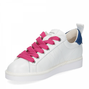 Panchic P01W leather white misterious fuxia-4