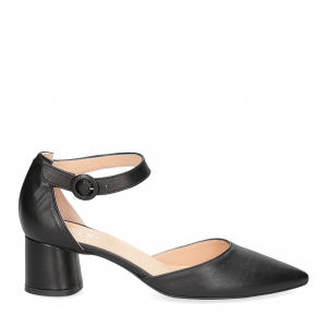 Il Laccio sandaliera 1415 pelle nera-1