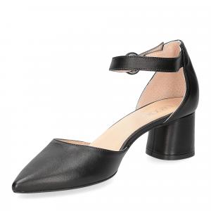 Il Laccio sandaliera 1415 pelle nera-3