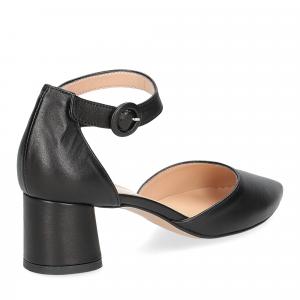Il Laccio sandaliera 1415 pelle nera-4