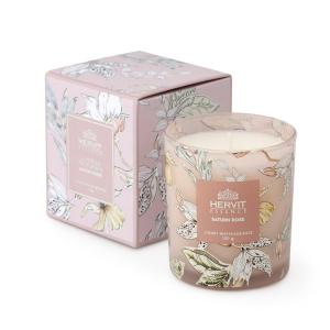 Hervit - candela profumata saturn rose