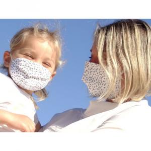 Mascherina lavabile Bambino con 10 filtri Mini Dots