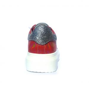 Sneaker rossa rifrangente Gaëlle Paris