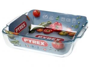 Pirofila da forno in pyrex cm21x21