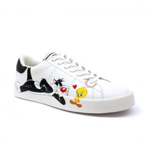 Sneaker bianca Looney Tunes Playground