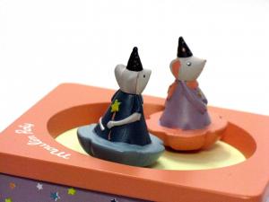 Carillon con topolini ballerini Moulin Roty