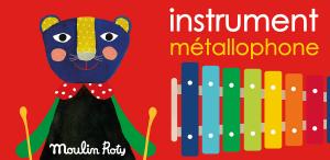 Xilofono strumento musicale Moulin Roty