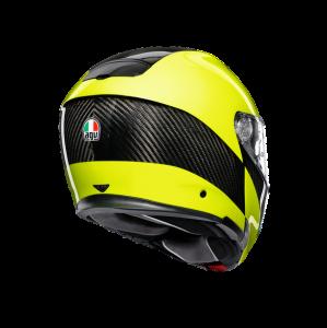 Casco AGV Sportmodular HI VIS