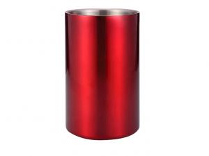 Rinfrescatore rosso per vino in metallo