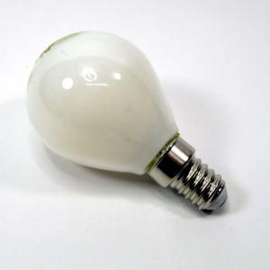 Lampada sfera led e14 4w bianca