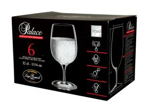 Calice basso per il vino in vetro brillante